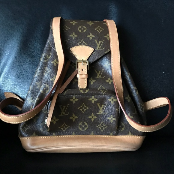 ba092d575ff4 Louis Vuitton Handbags - Authentic Louis Vuitton Montsouris MM Backpack.